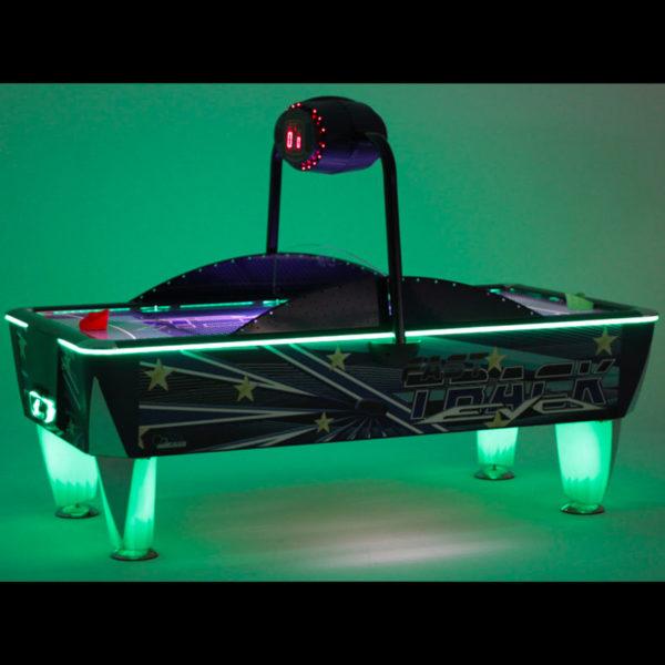 Airhockey groen