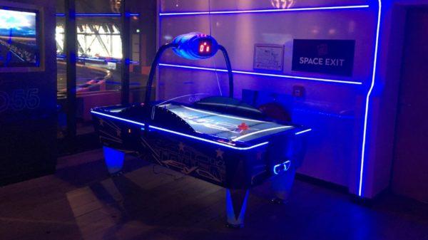 Airhockey met LED