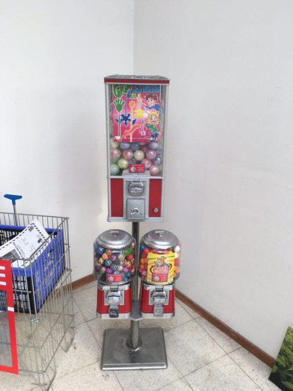 capsule en kauwgomautomaat