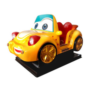 kiddyride car geel