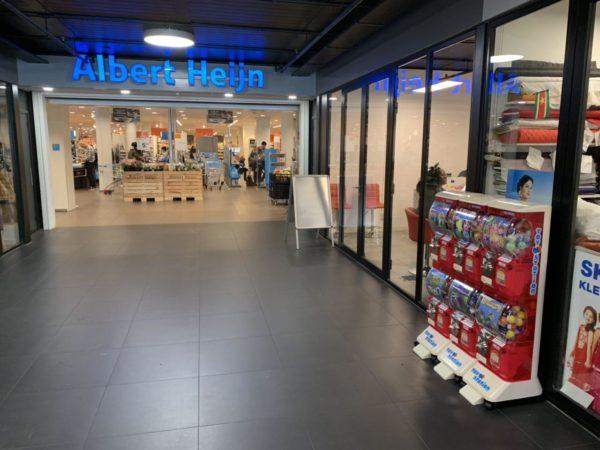 Capsule automaat bij Albert Heijn
